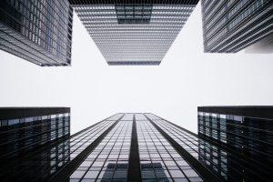 new grey buildings